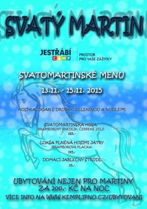 Svatomartinské hody / St. Martins Fest / St. Martin`s feast