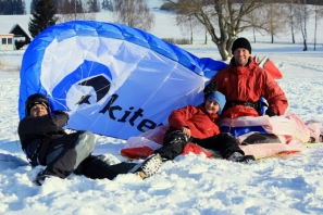 Intenzivní snowkite kurz