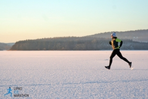 Lipno Ice Marathon 2017